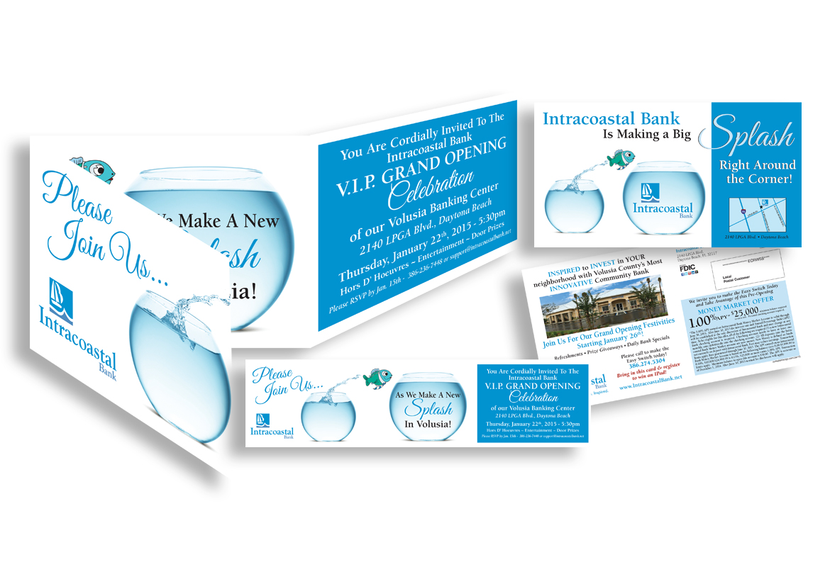 Intracoastal Bank Grand Opening Invite