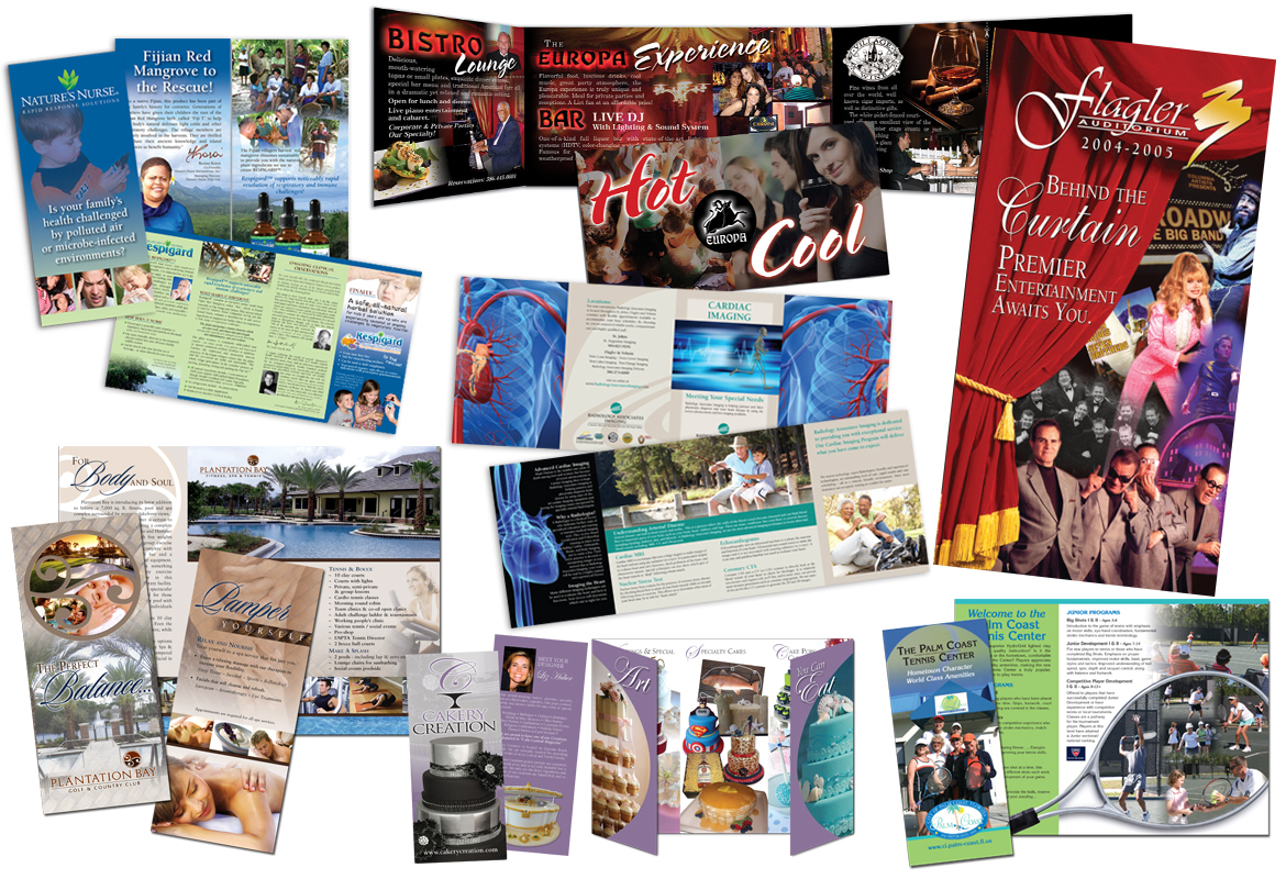 Full Color Brochures
