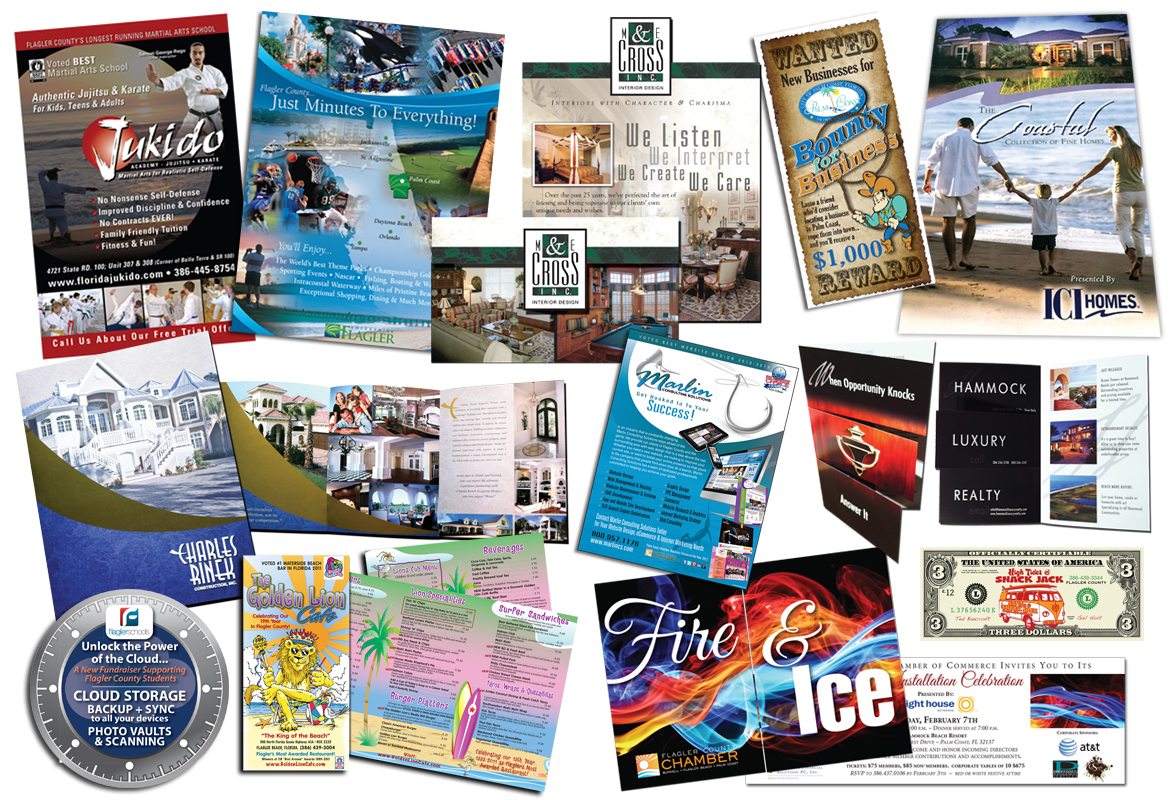 Flyers, Menus, Invites & more.
